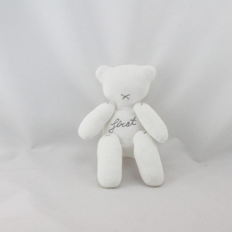 Doudou ours blanc First MINISU NICOTOY