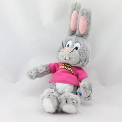 Doudou lapin gris rose RAVENSBURGER