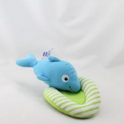 Doudou vibrant dauphin bleu CHICCO