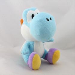 Peluche Yoshi bleu Super Mario Bros Wii 2011 NINTENDO