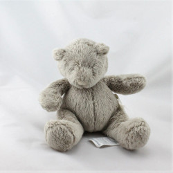 Doudou musical ours gris Basile et Lola MOULIN ROTY