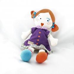 Doudou poupée Francette LES MISTINGUETTES GLOBE TROTOYS