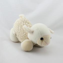 Doudou mouton écru beige
