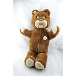Ancienne peluche ours Gabby les petits malins Année 1985