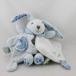 Doudou et compagnie lapin blanc bleu tendresse TATOO