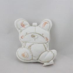 Mini Doudou lapin blanc ABSORBA