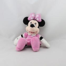 Peluche Minnie robe rose à pois DISNEY NICOTOY 22 cm