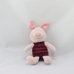 Doudou Porcinet rose bordeaux DISNEY BABY