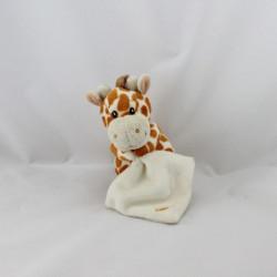 Doudou girafe avec mouchoir BABY NAT