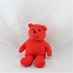 Doudou ours rouge TB1
