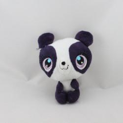 Mini Peluche panda blanc violet LITTLEST PETSHOP QUICK