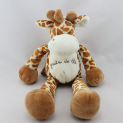 Doudou girafe GRAIN DE BLE