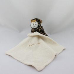 Doudou léopard avec mouchoir BABY LAND