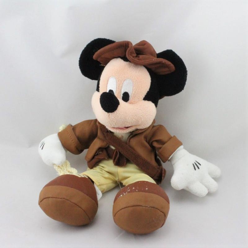 Doudou Mickey Indiana Jones DISNEY
