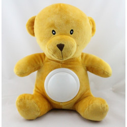Doudou peluche veilleuse ours GMBH