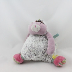 Doudou chat rose les Pachats MOULIN ROTY