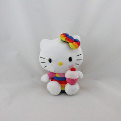 Peluche chat HELLO KITTY cupcake SANRIO LICENSE