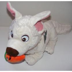 Doudou peluche chien blanc VOLT DISNEY
