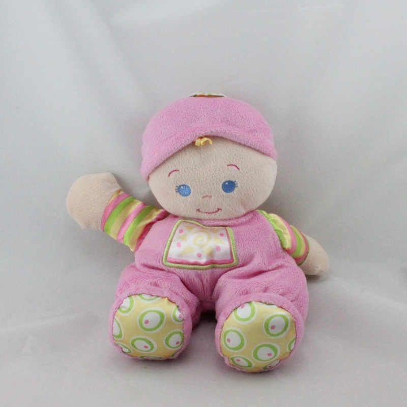Doudou poupon rose Baby Doll FISHER PRICE