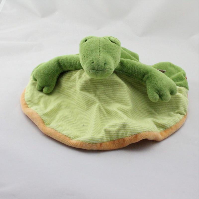 Doudou plat crocodile élan Les Loupiots MOULIN ROTY