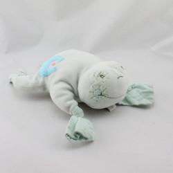 Doudou grenouille bleu TAKINOU