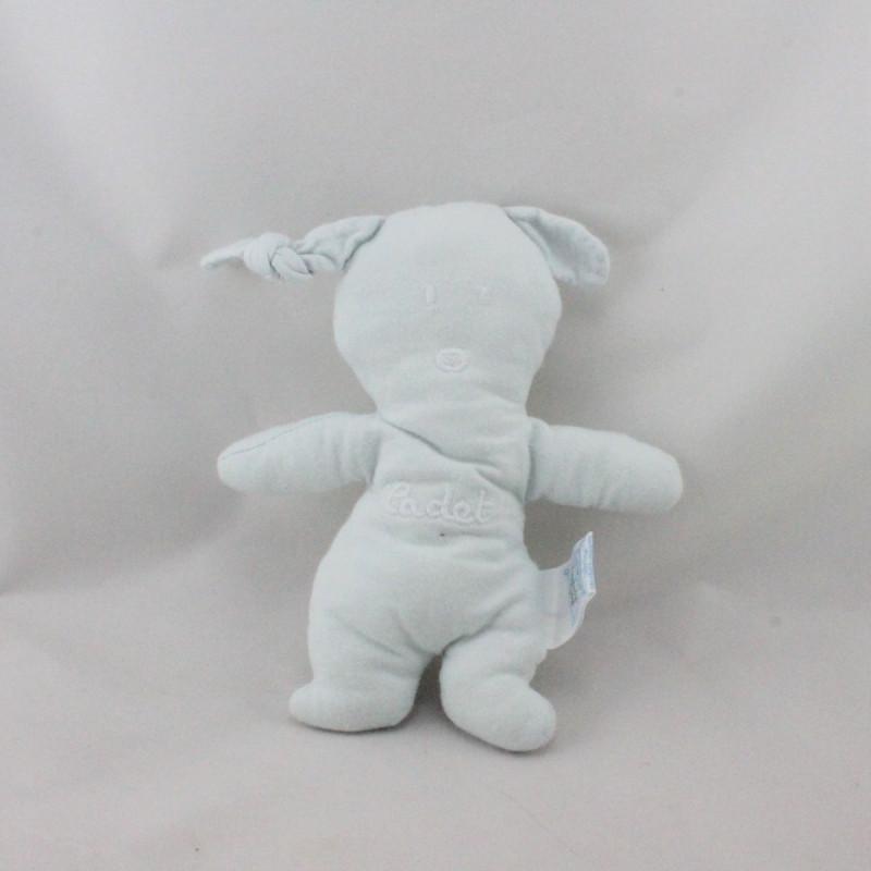 Doudou lapin bleu CADET ROUSSELLE