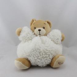 Doudou ours blanc fourrure Fur KALOO