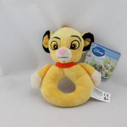 Doudou hochet le roi lion Simba DISNEY NICOTOY