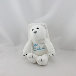 Doudou lapin blanc Calin CENTRAL VET