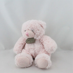 Doudou et compagnie musical ours rose