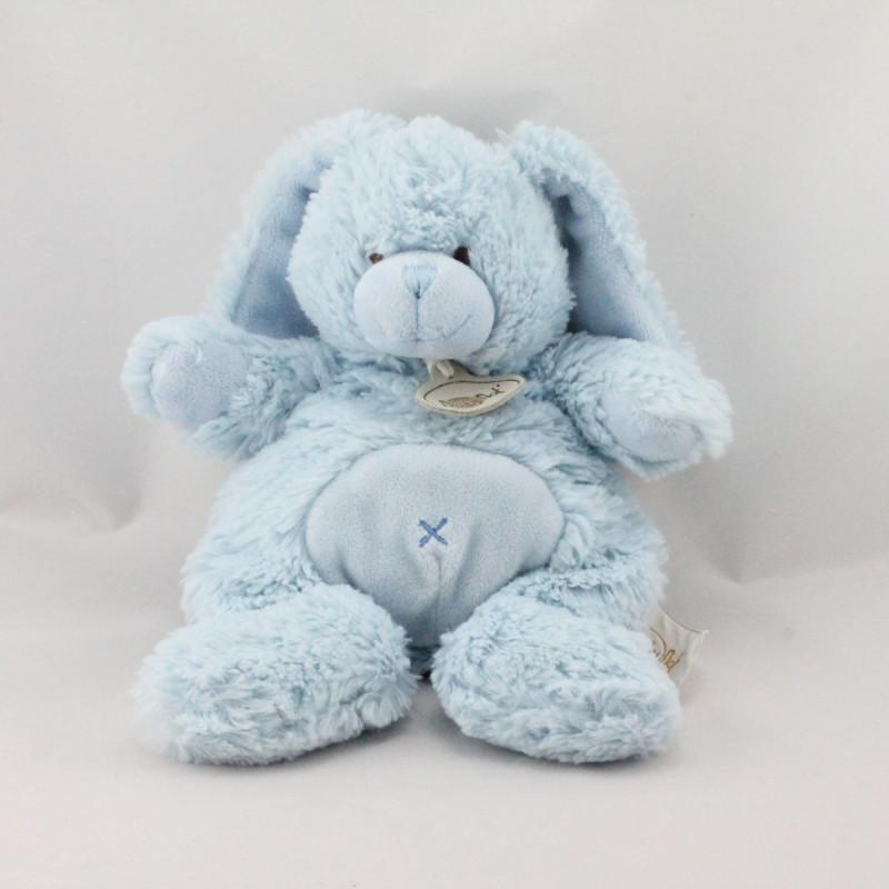 Doudou lapin bleu BABY NAT