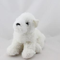 Doudou chien blanc GIPSY