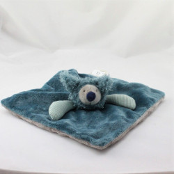 Doudou plat ours Baba le Koala bleu Les Zazous MOULIN ROTY