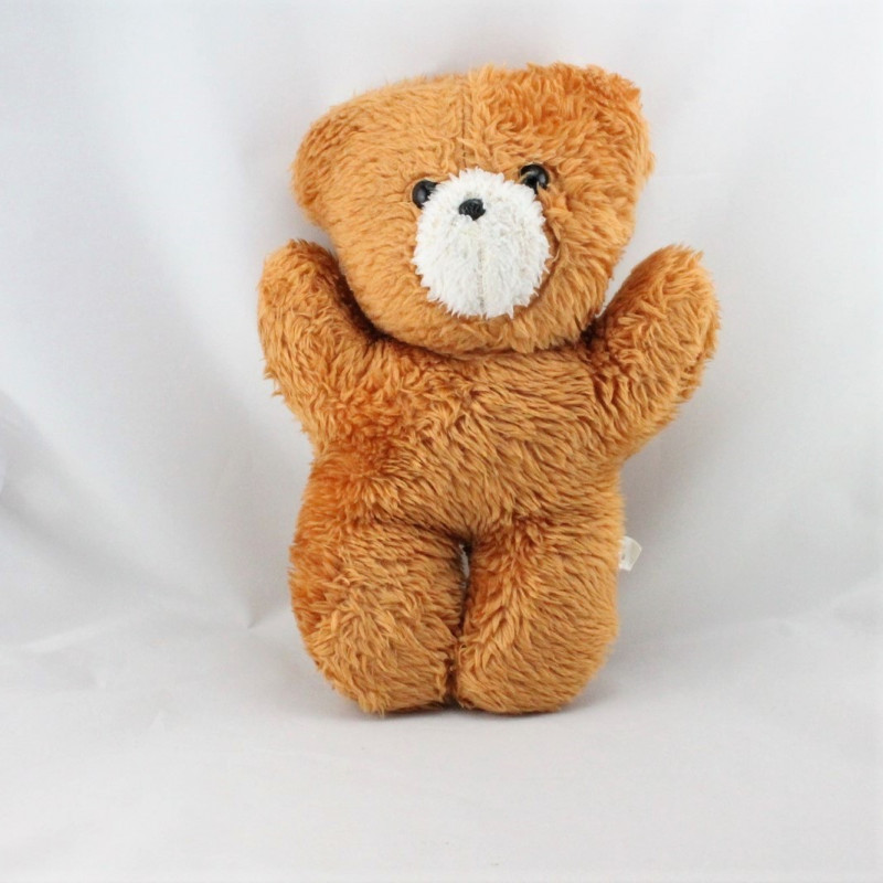 Ancienne peluche ours marron CHAMTI PAMPERS