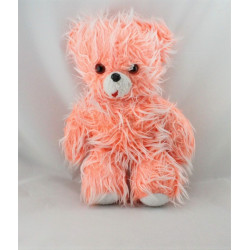 Ancienne peluche ours orange CHAMTI PAMPERS
