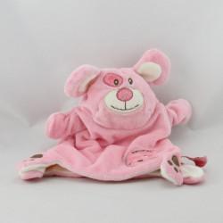 Doudou et compagnie plat  marionnette souris rose monster
