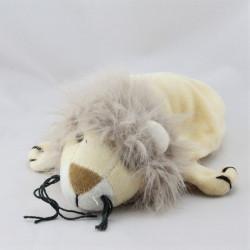 Doudou marionnette lion beige  EGMONT TOYS