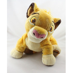 Grande Peluche le roi lion Simba Kovu DISNEY STORE