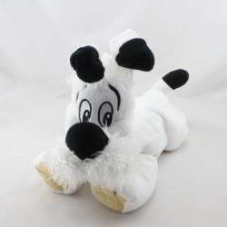 Doudou peluche chien blanc Idéfix Parc ASTERIX 2012