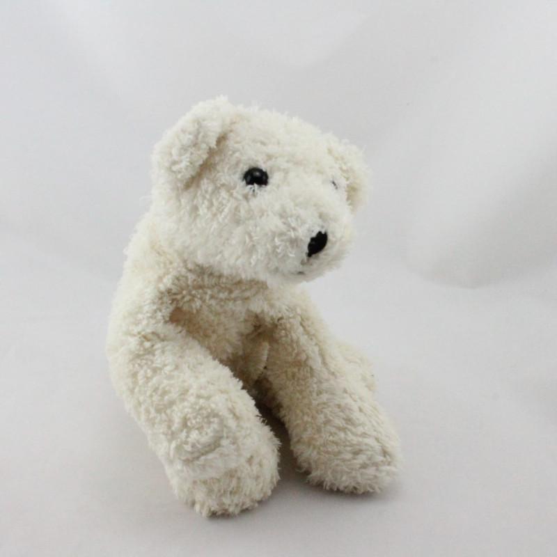 Doudou Peluche ours blanc ANNA CLUB PLUSH