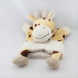 Doudou plat marionnette girafe Nature BABY NAT