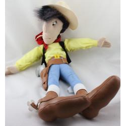 Ancienne peluche CowBoy Lucky Luke 1995 - 60 cm