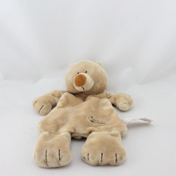 Doudou plat ours beige TIAMO COLLECTION