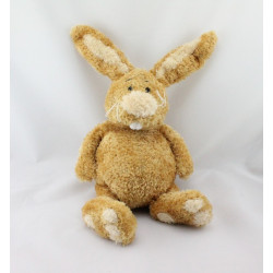 Doudou lapin beige marron ANNA CLUB PLUSH