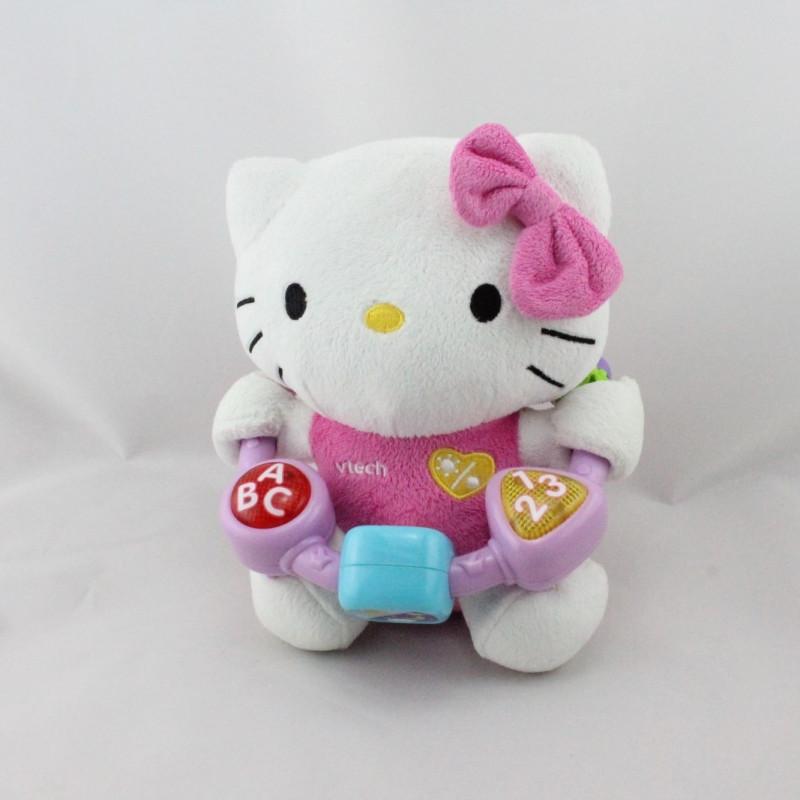Peluche éducative chat HELLO KITTY Mon amie des découvertes VTECH