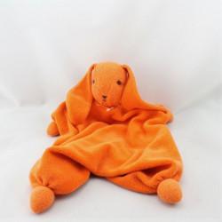 Doudou plat lapin orange PEPPA