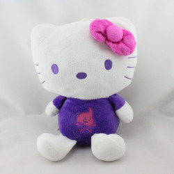 Peluche chat HELLO KITTY violet rose pirate SANRIO LICENSE