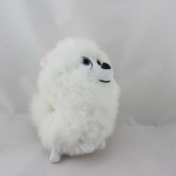 Peluche chien blanc Gidget La vie secrète des animaux de compagnie