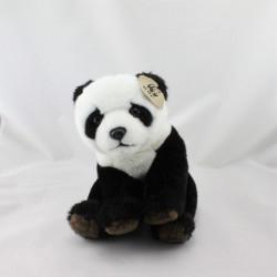 Peluche panda noir blanc WWF