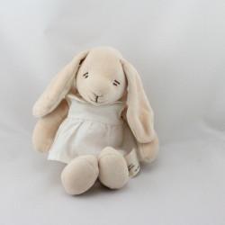 Doudou lapin beige robe blanche KIABI SIMBA DICKIE